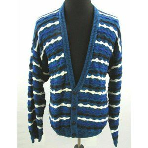 Etchings Textured Cardigan Sweater Mens XL